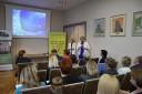 Zdjęcie ze spotkania zatrudniania cudzoziemców